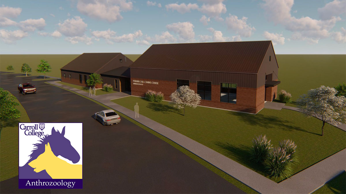 Rendering of new Perkins Call Canine Center