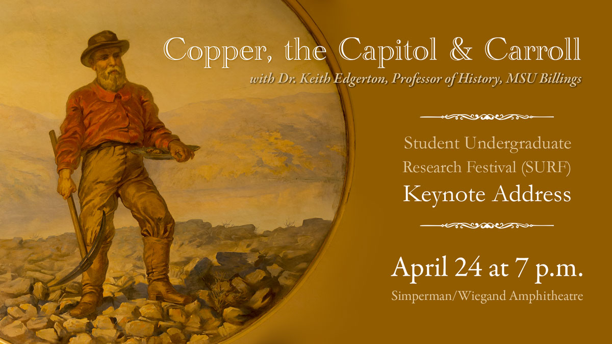 SURF Keynote 'Copper, the Capitol, and Carroll' graphic