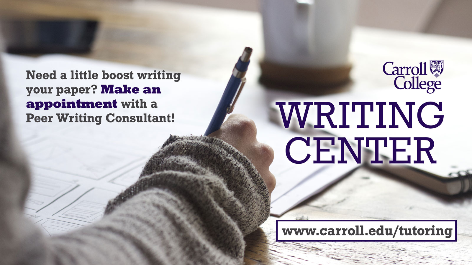 Writing Center Graphic