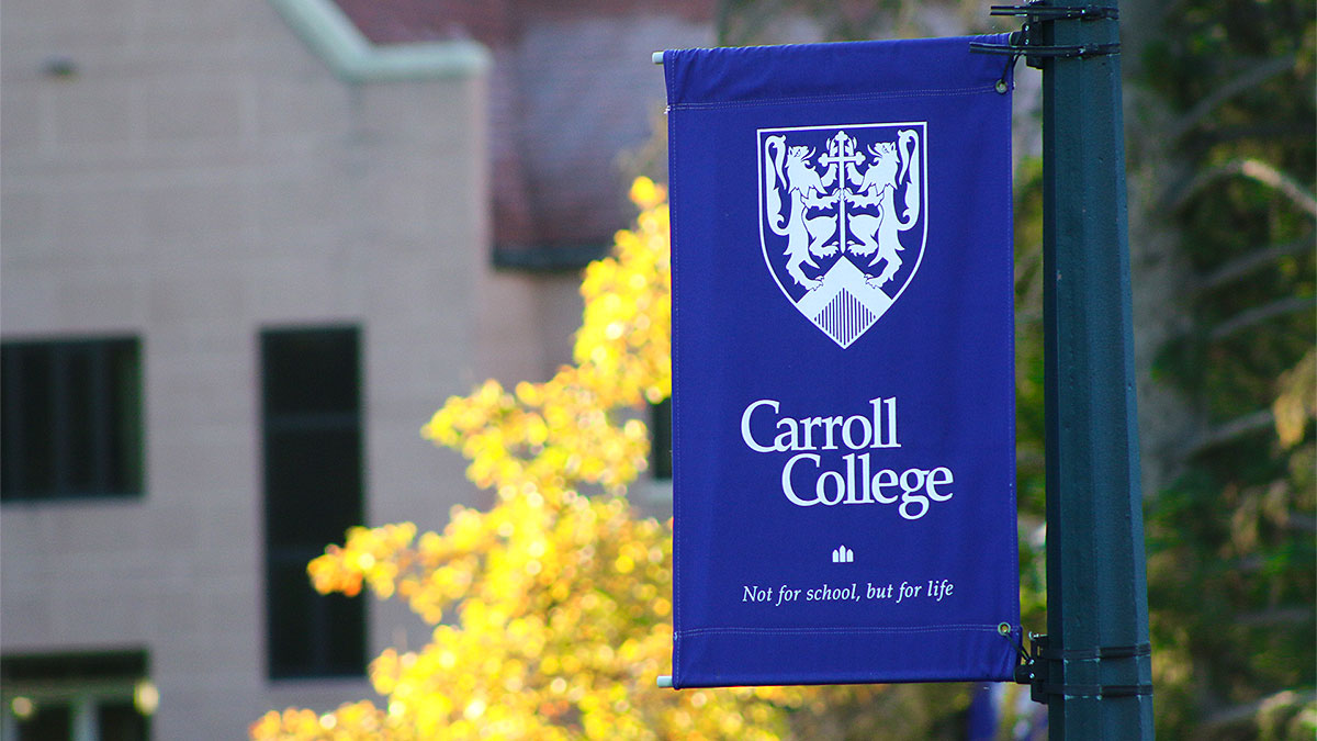 Carroll College Banner