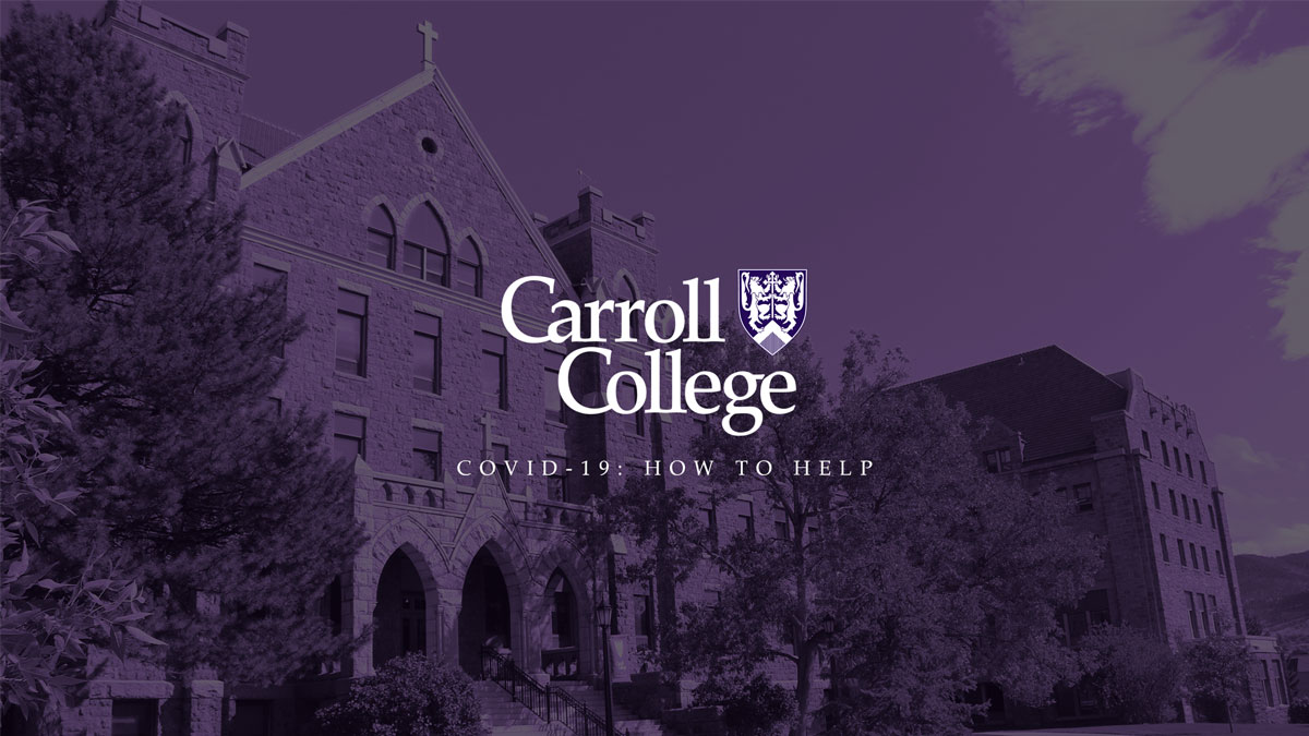 Carroll College COVID-19 Update graphic