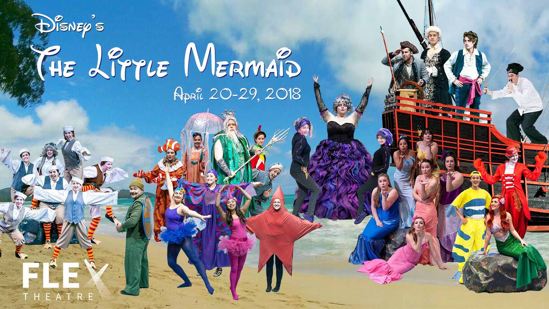 Carroll College Theatre: The Little Mermaid graphic