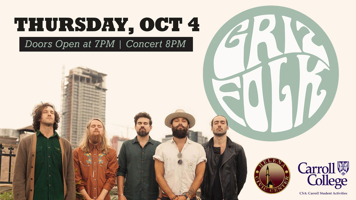 Concert: Grizfolk graphic
