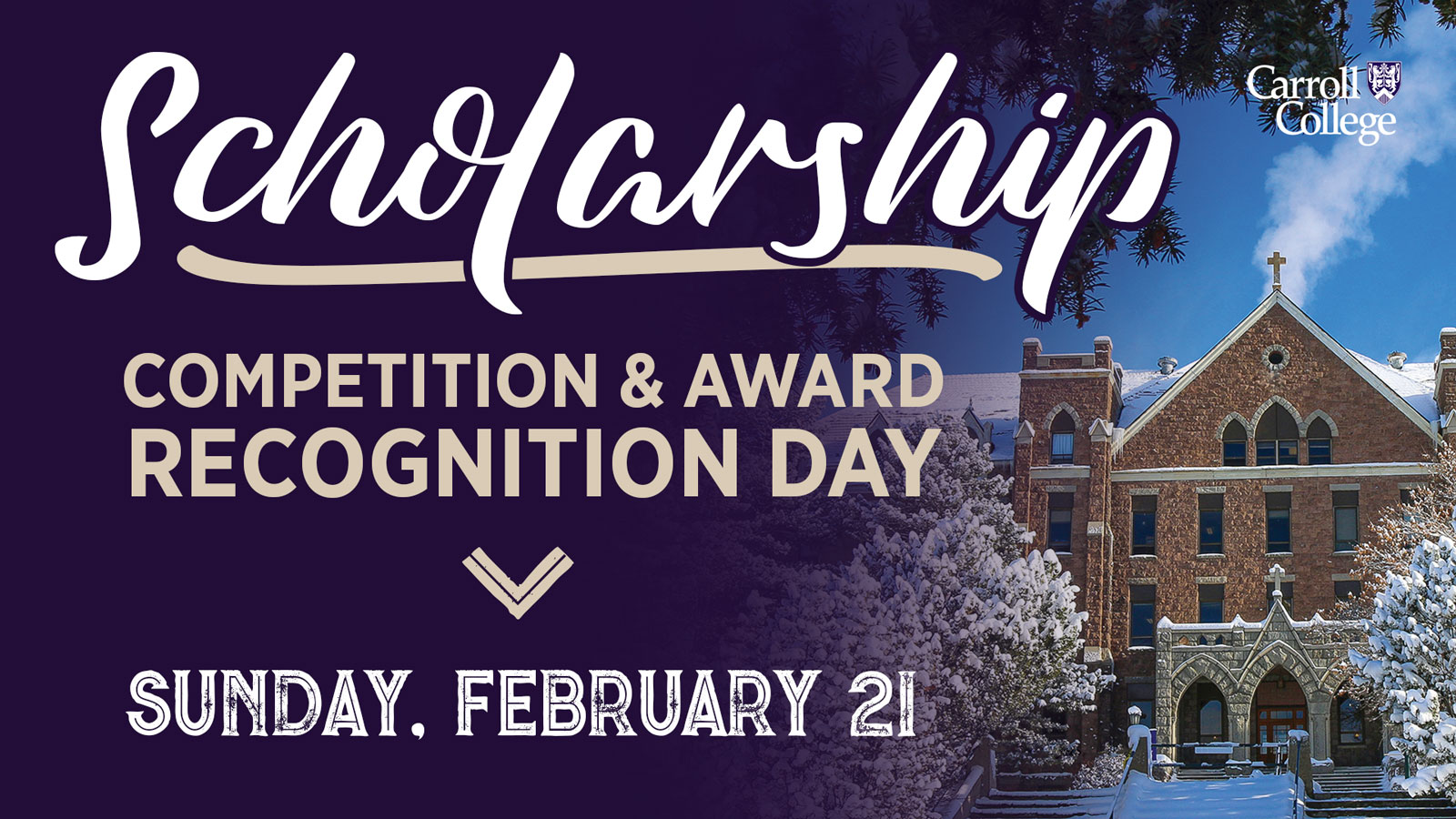 Scholarship Competition & Award Recognition Day graphic