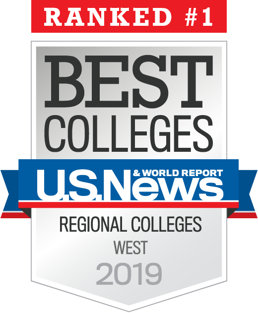 US News and World Report #1 Regional College in the West