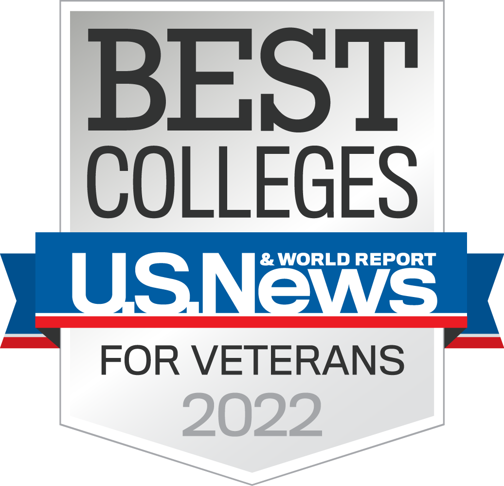 2022 Third Best College for Veterans (in the West)
