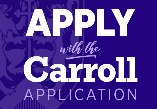 Carroll College Application for Admission