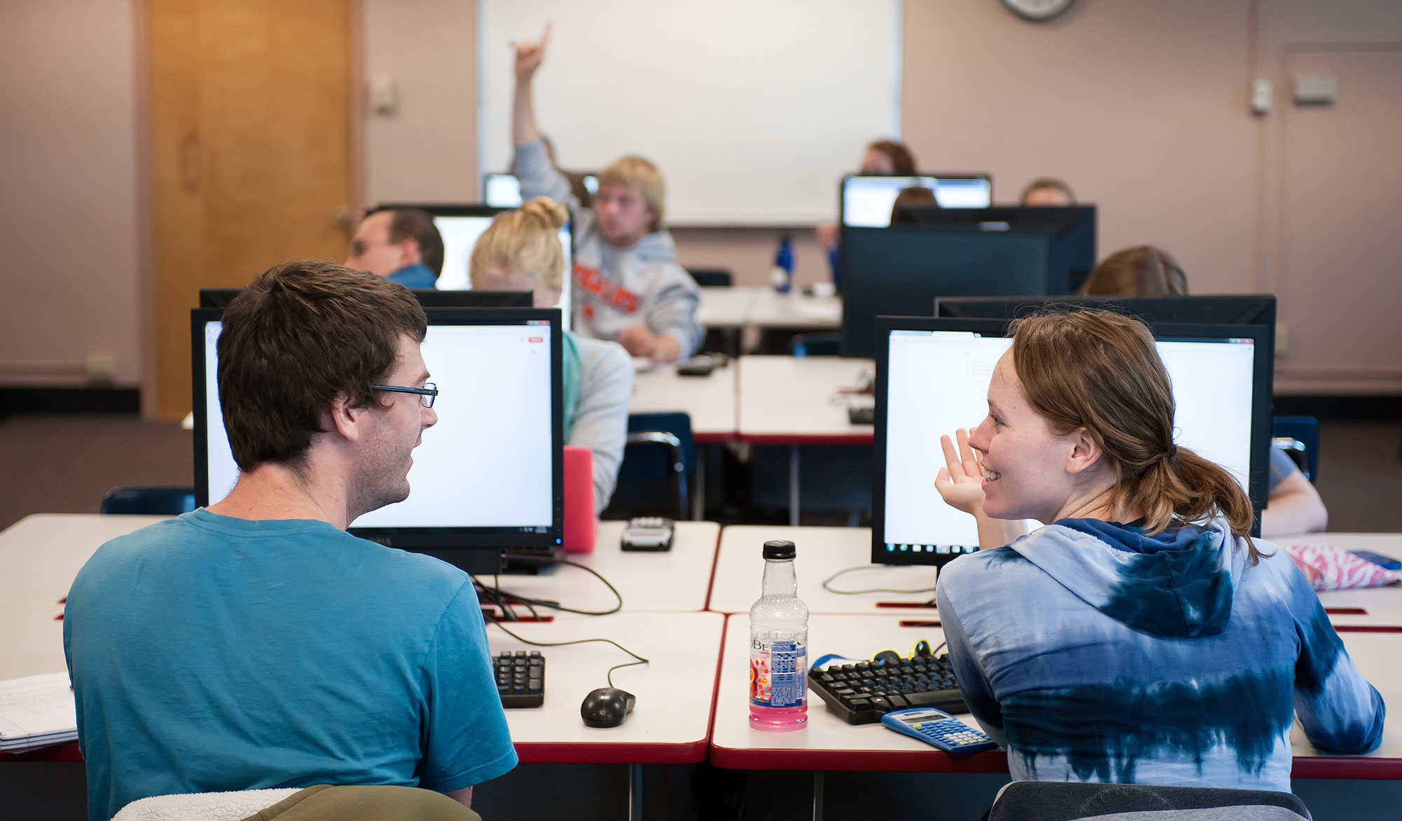 Image of Students in Computer Lab
