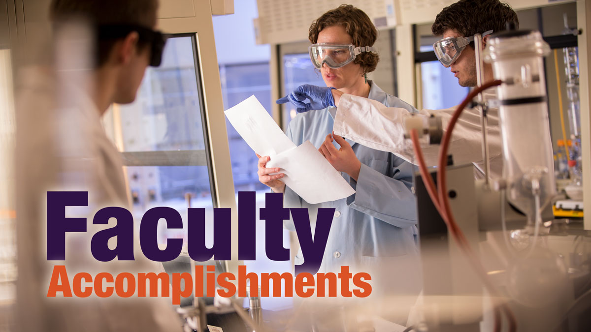 Faculty Accomplishments graphic