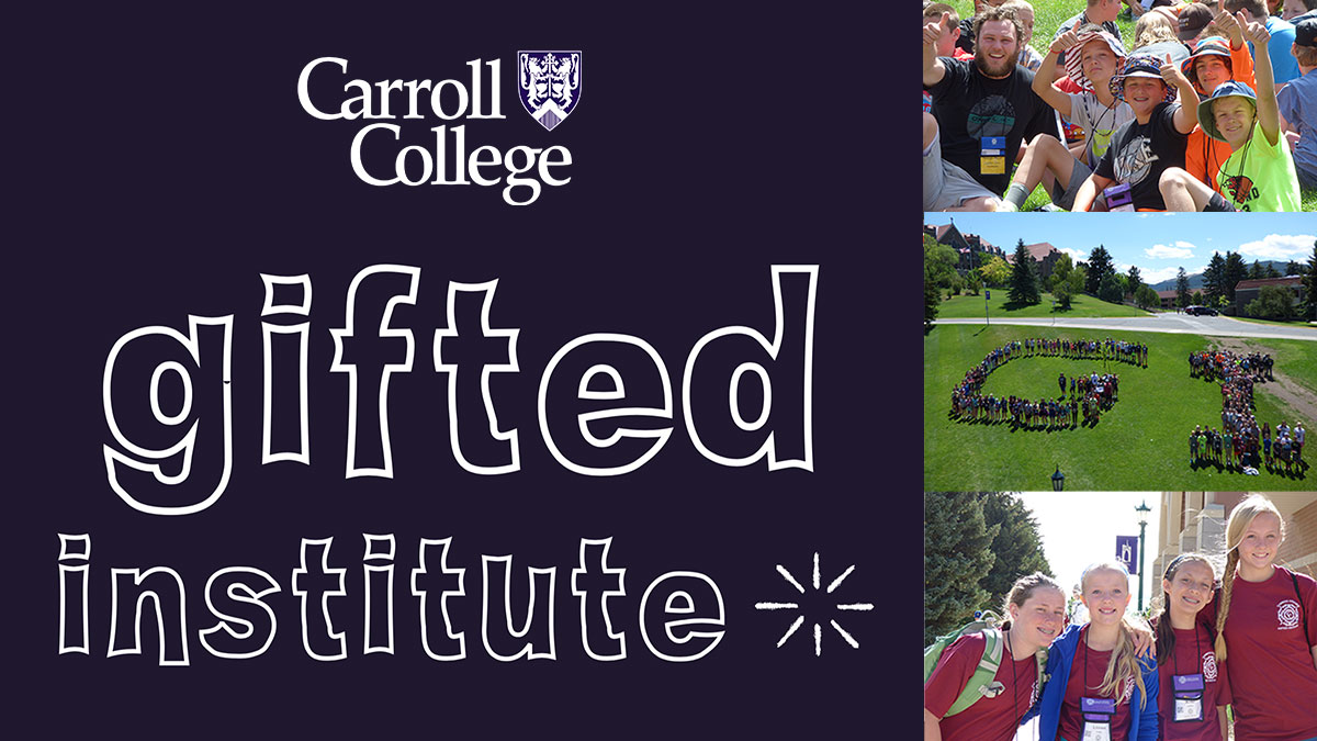 Gifted Institute at Carroll College graphic