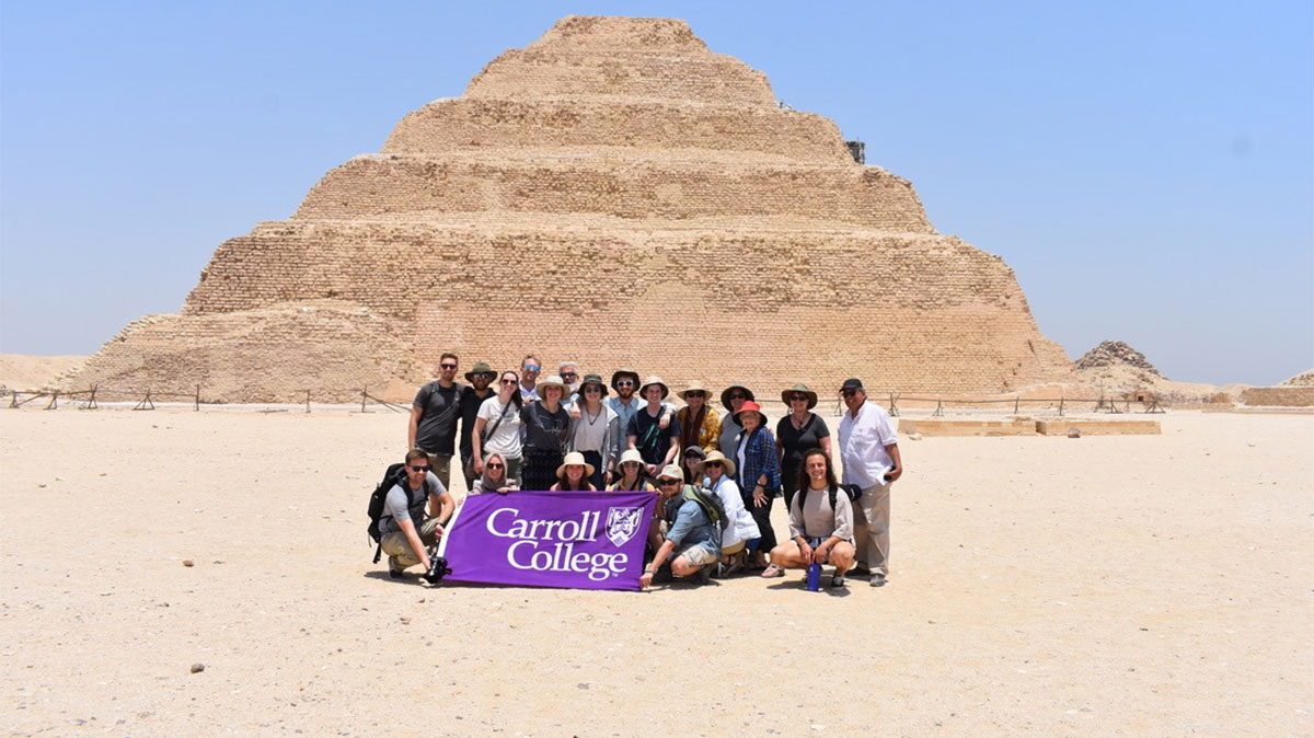 History group - study abroad in the middle east