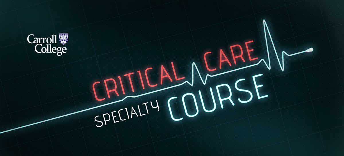 Critical Care Specialty Course