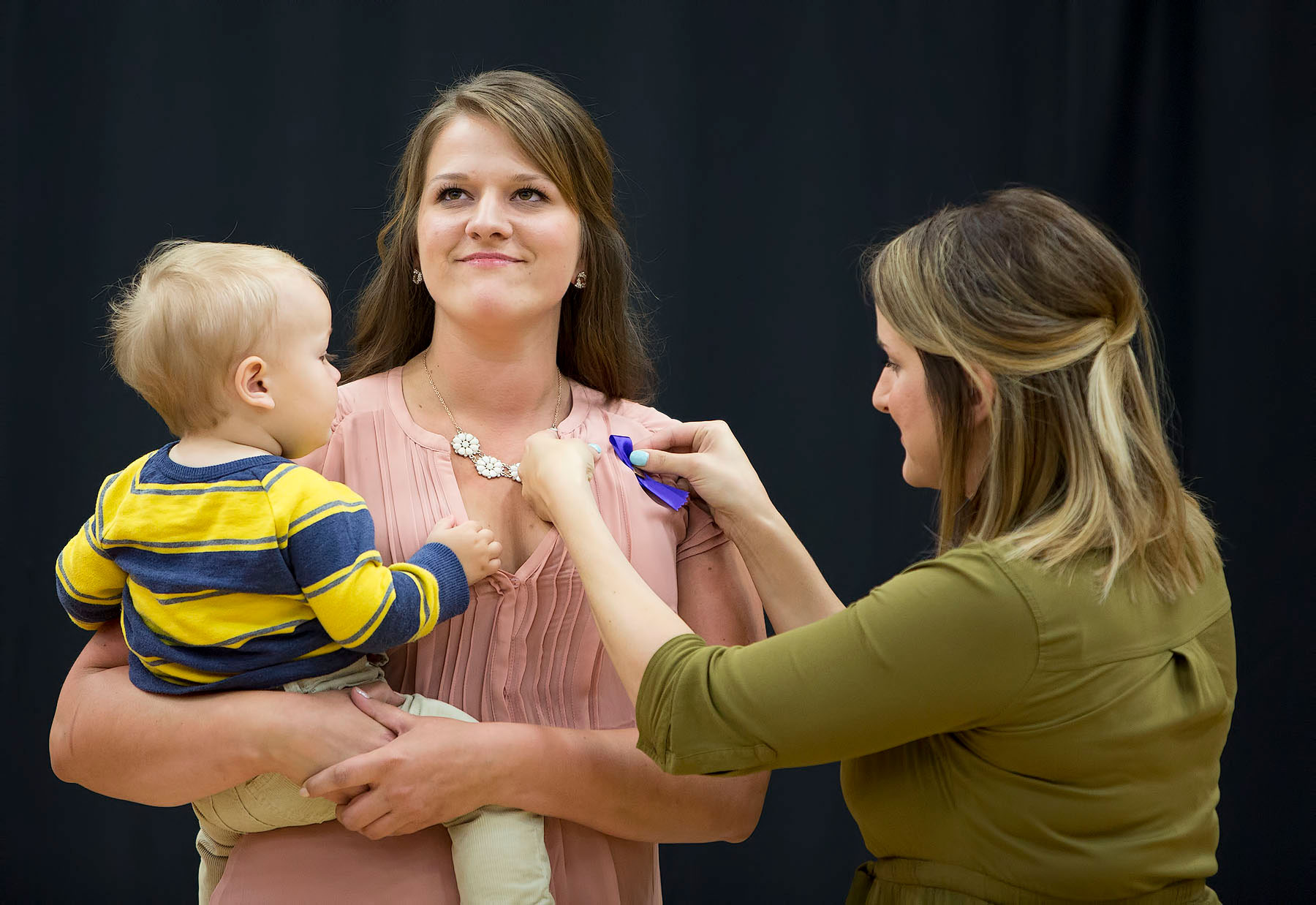 Each spring, Carroll College holds pinning ceremony as a symbolic welcoming of newly graduated nurses into the nursing profession.