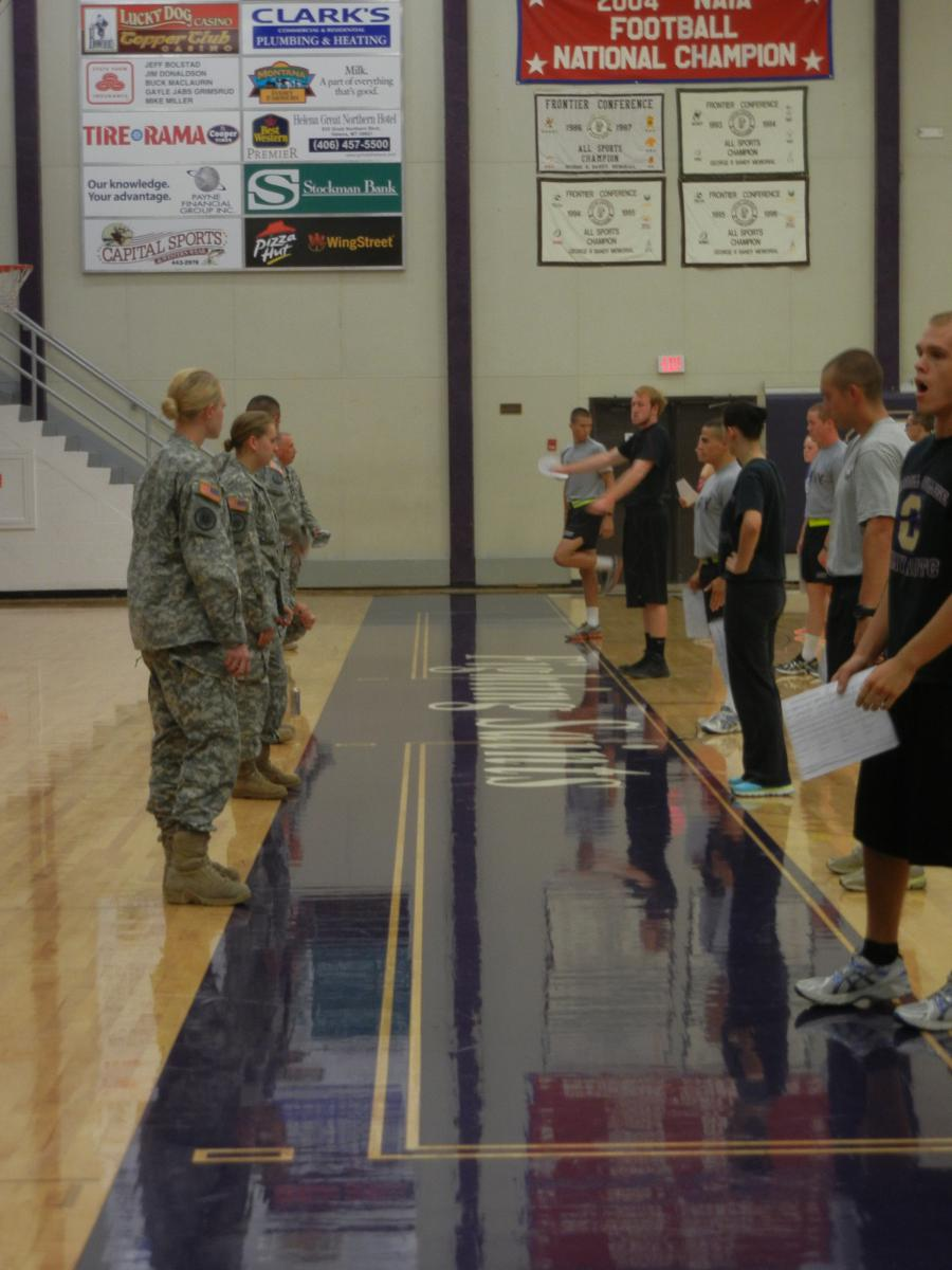 ROTC Cadets   Carroll College