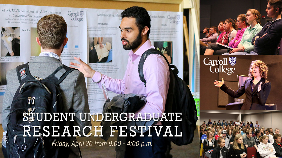 Image of Student Undergraduate Research Festival