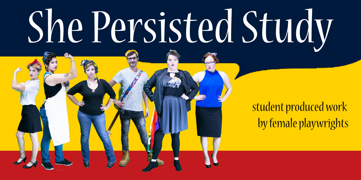 Student actors of She Persisted Study