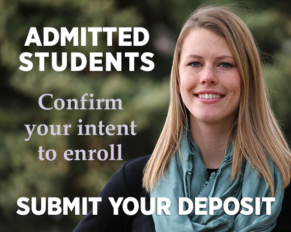 Submit your enrollment deposit