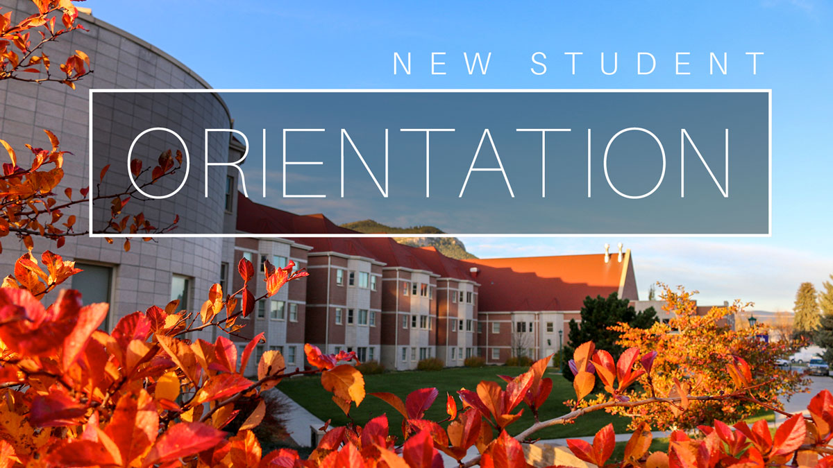Fall Orientation graphic