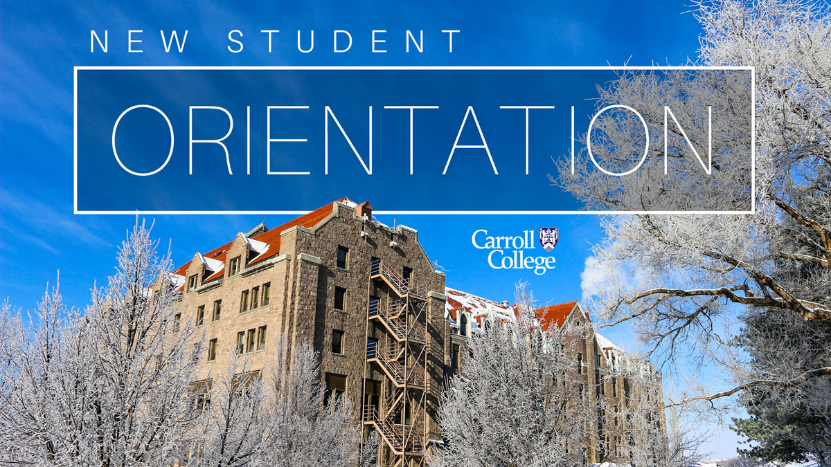 Graphic for Spring Orientation