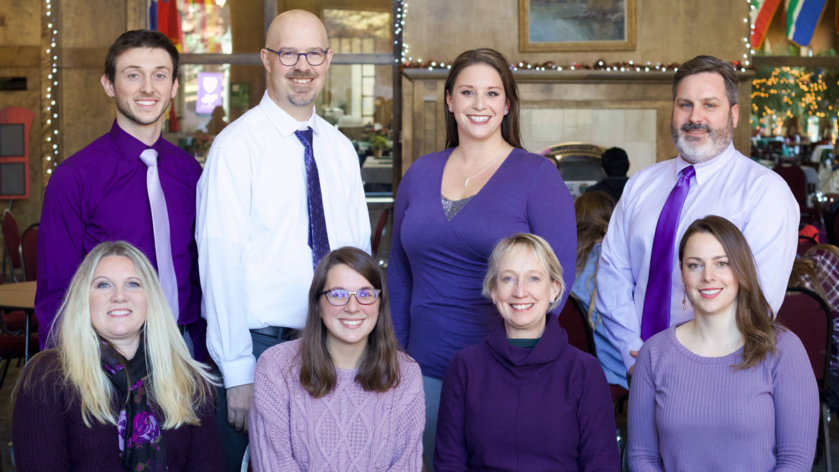 Carroll College Admission Counselors group shot