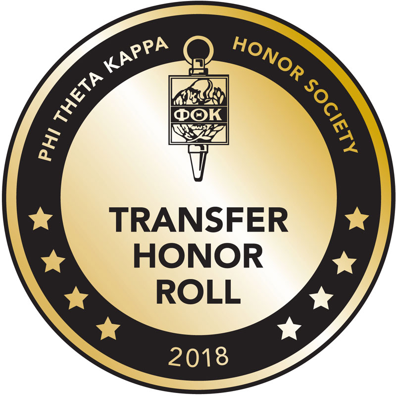 Phi Theta Kappa Honor Society Seal graphic