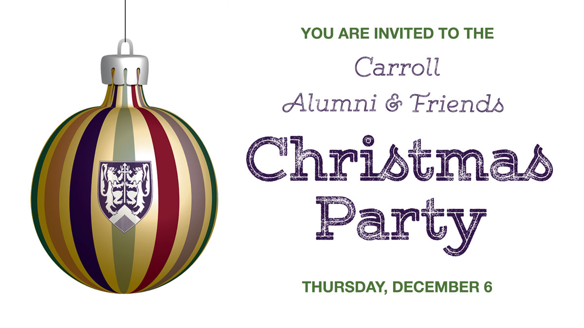 Christmas Party: Alumni and Friends graphic