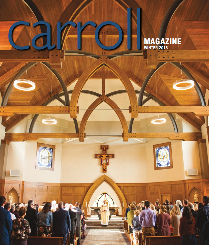 Cover of Carroll Magazine