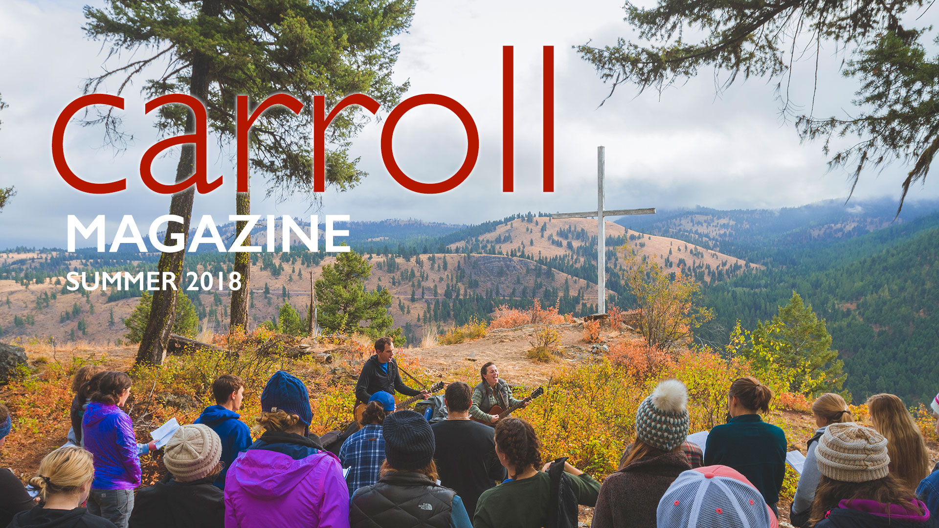 Carroll College Magazine - Photo of Campus Ministry Sophomore Retreat
