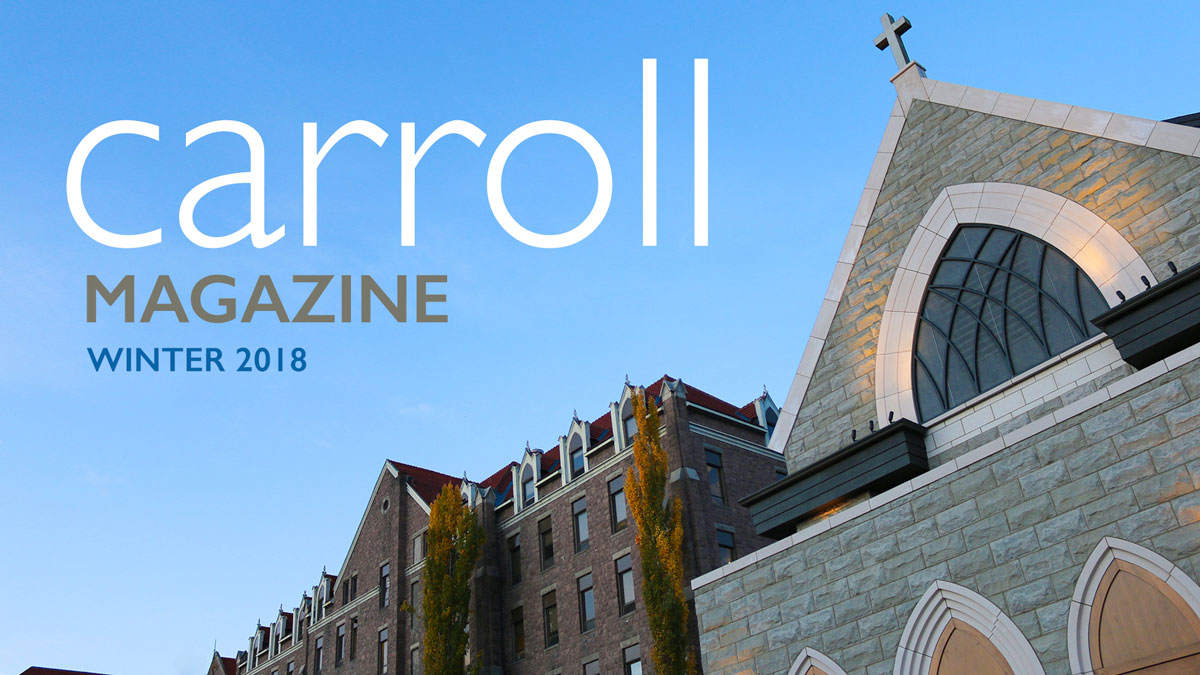 Carroll College Magazine - Photo of All Saints Chapel
