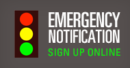 Emergency Notification Graphic