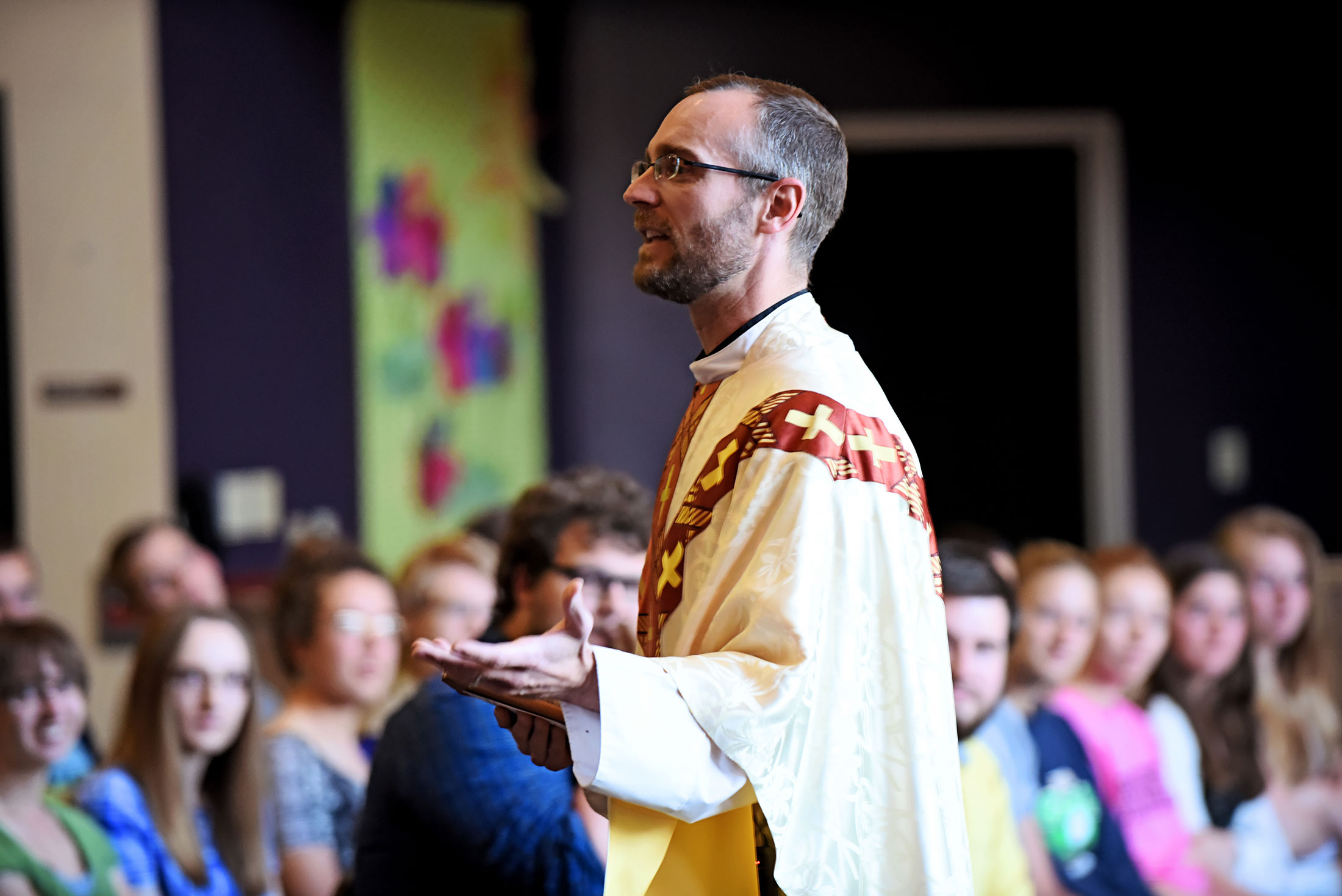 Fr. Marc Lenneman is Carroll's Chaplain and Director of Campus Ministry.