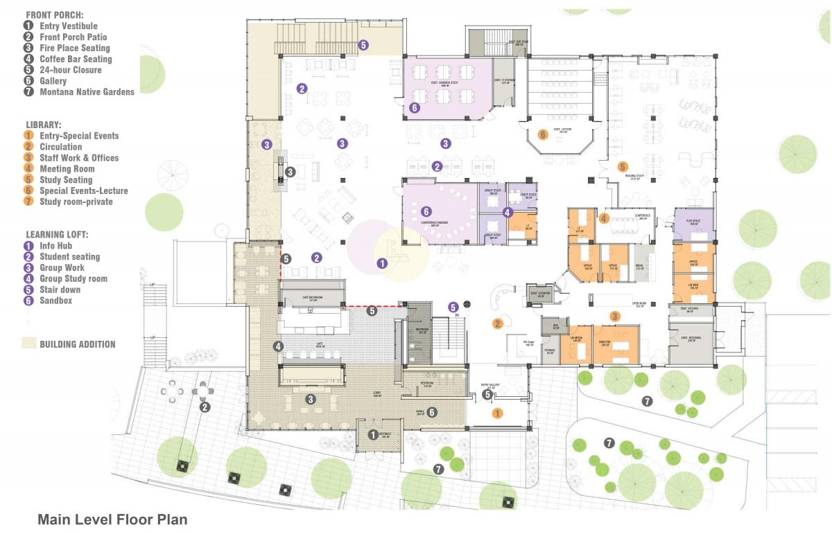 Learning Commons Main Floorplan Graphic