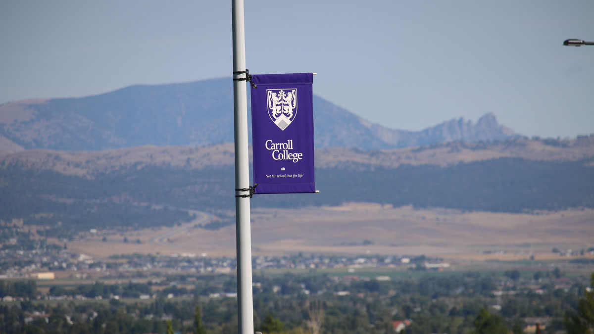 Photo of Carroll College Flag