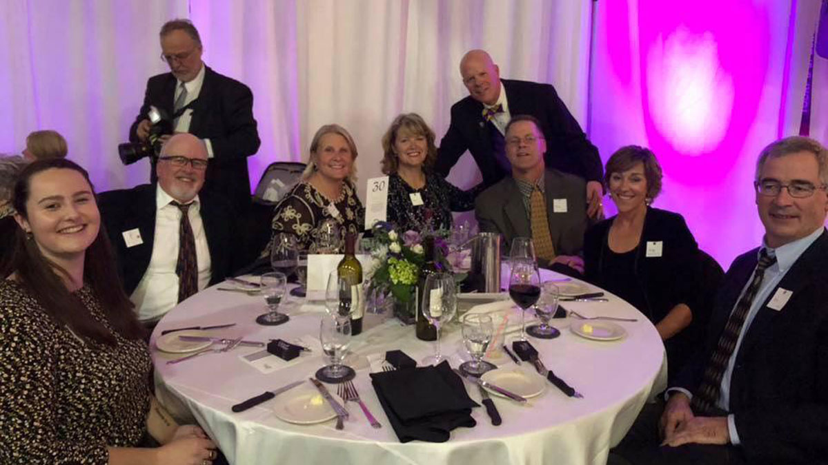 Celebrating Our Students - table of Gala Guests