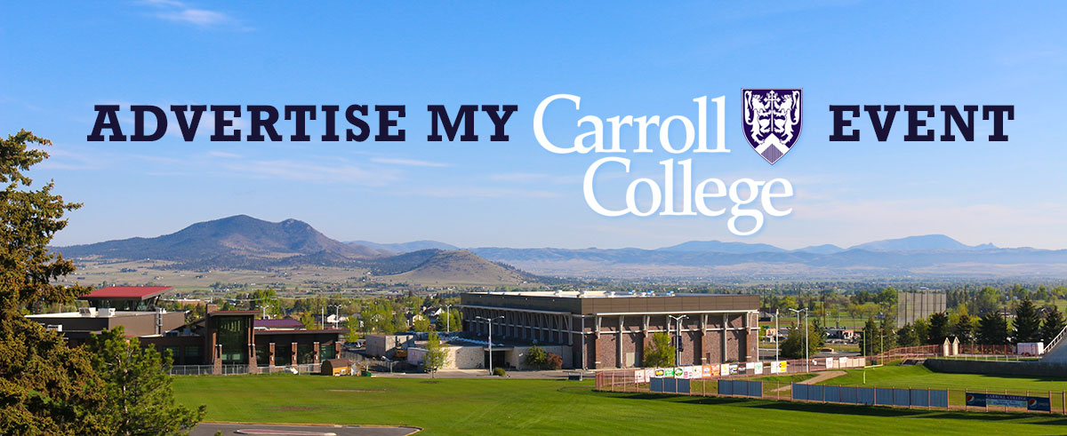 Advertise my Carroll Event