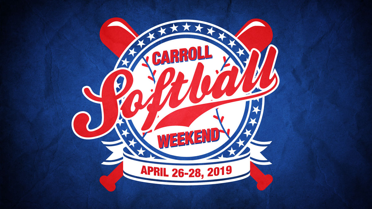 Softball Weekend Graphic