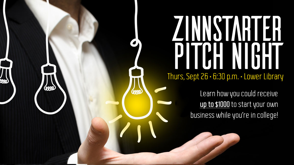 ZinnStarter Business Pitch graphic