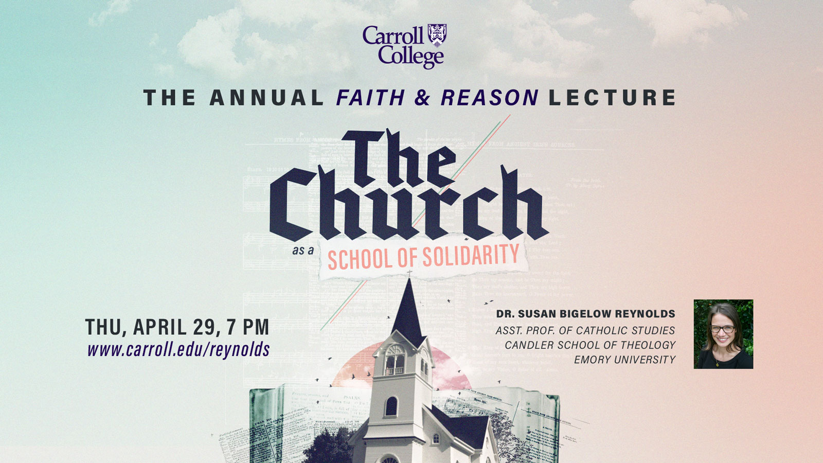 Lecture: Faith and Reason graphic