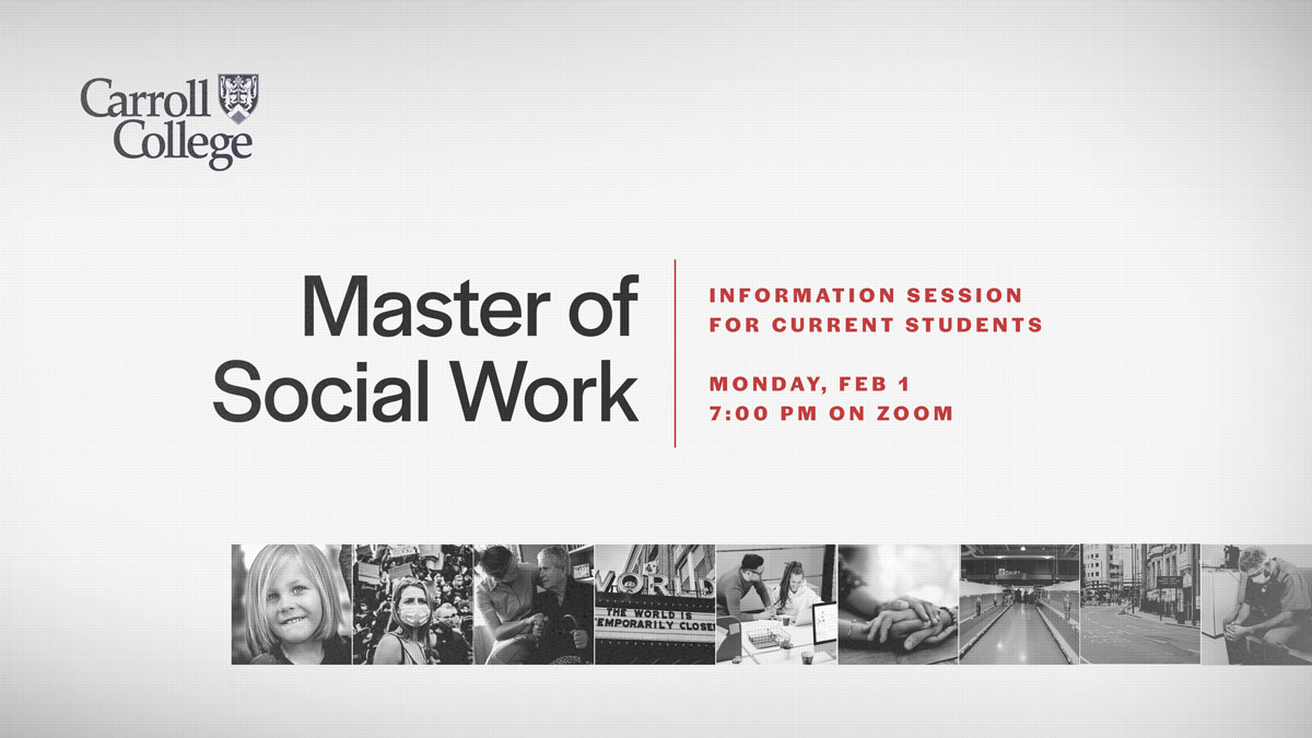 MSW Info Session graphic