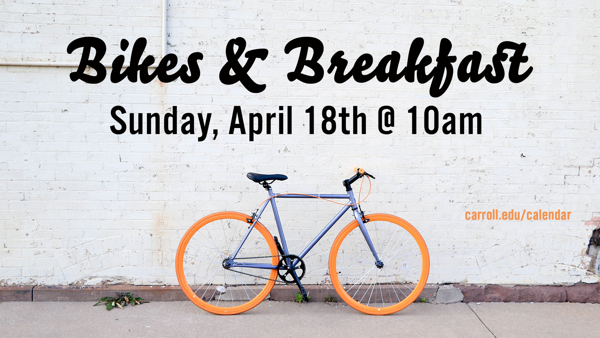 Bikes and Breakfast Graphic
