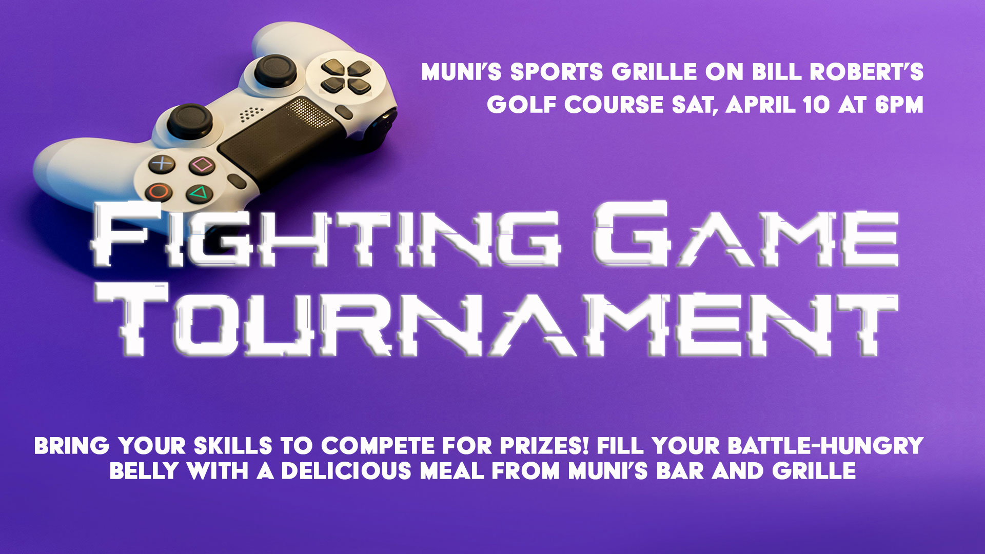 Fighting Game Tournament Graphic