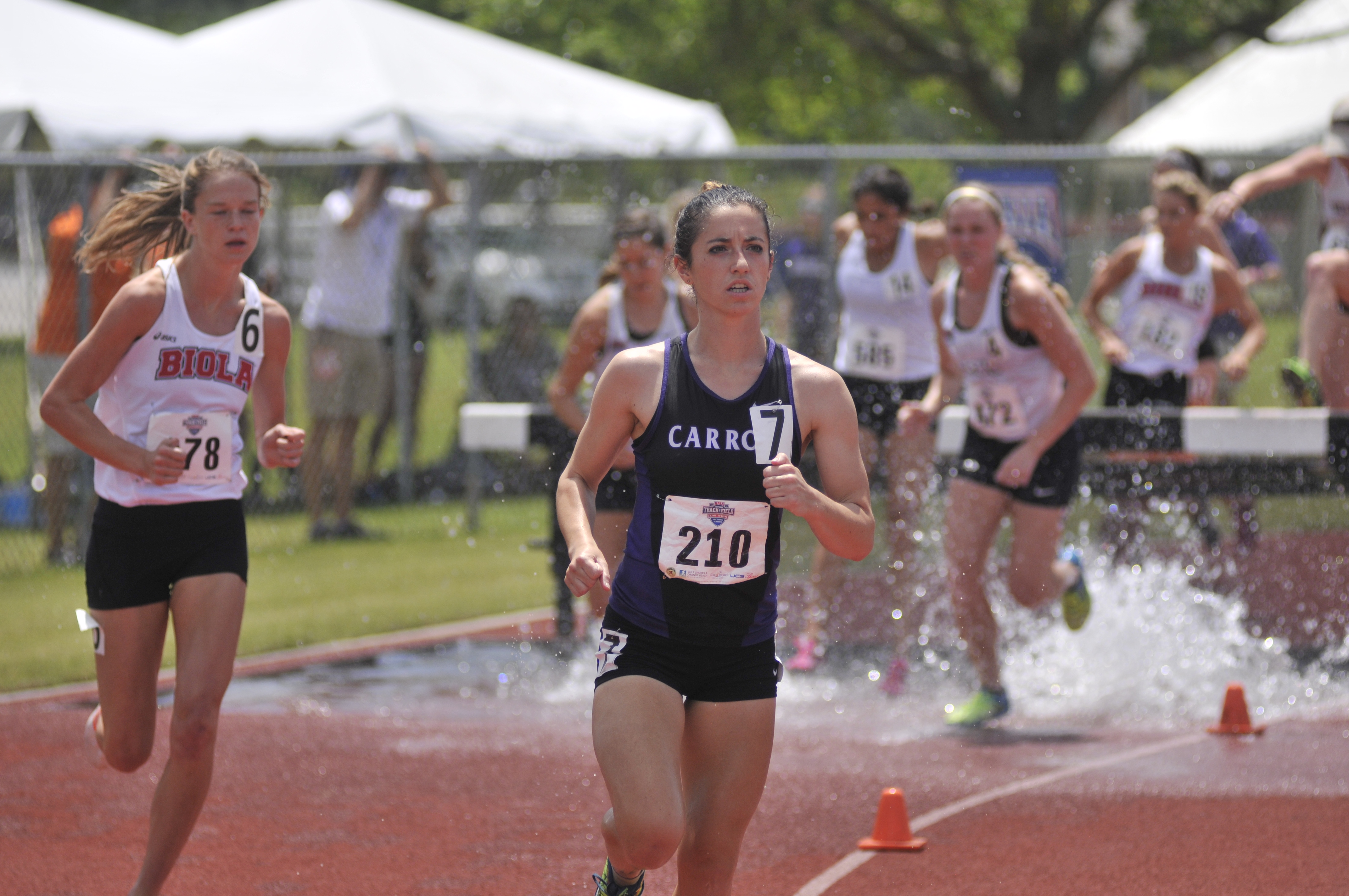 Leah Esposito Competing in the Steeple Chase