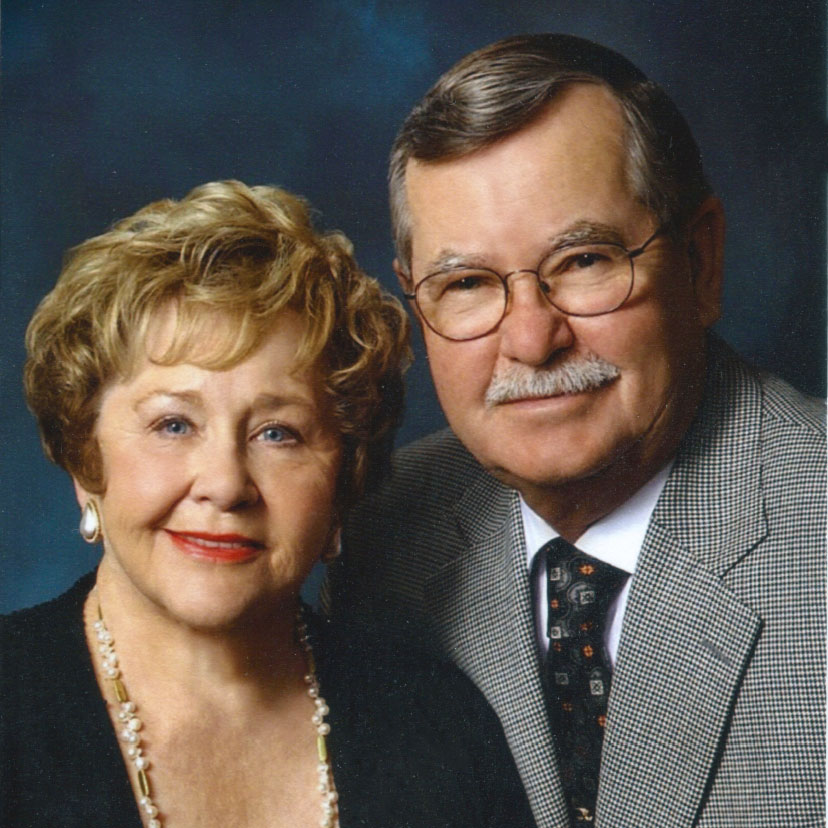 Portrait of Patricia '63 and Thelmer Aalgaard