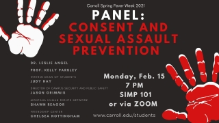 Consent and Sexual Assault Prevention Graphic