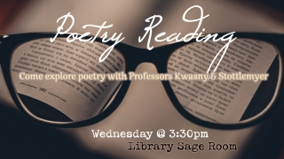 Poetry Reading Graphic