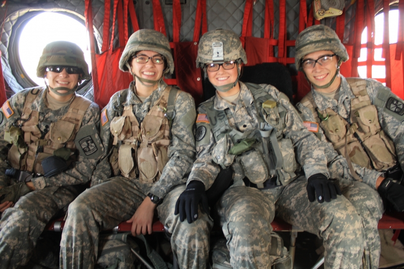 Riding in a Chinook to Fall FTX