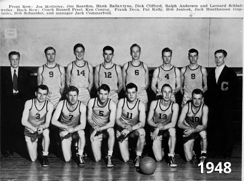 Basketball team 1948
