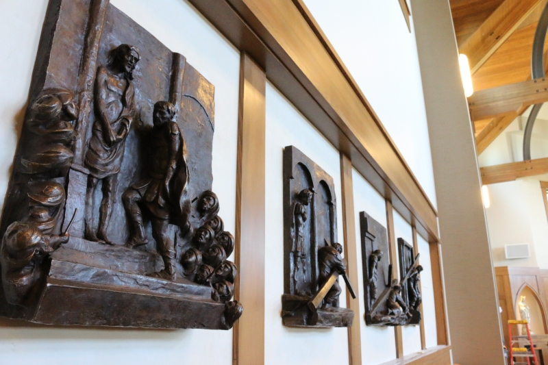 Stations of the Cross Installation