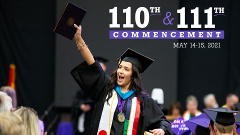 2020 and 2021 Commencement Graphic