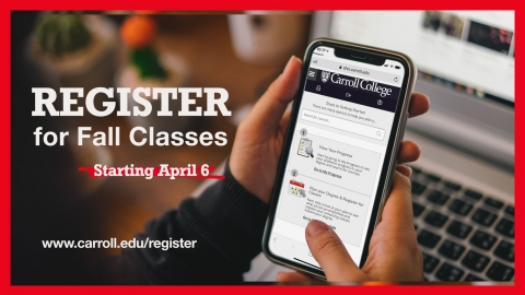 Register for Classes graphic